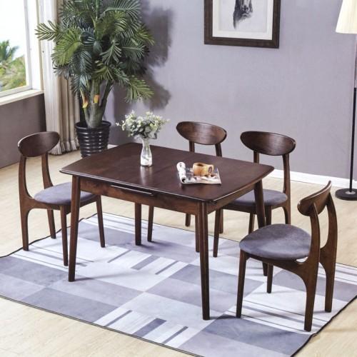 小户型家装餐桌椅 小美式家具生产厂家 新蹦桌#