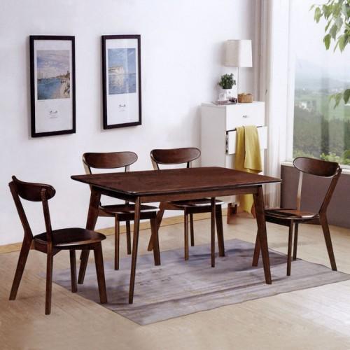 香河爱阁北欧时光家具 简美餐桌椅 B-18#