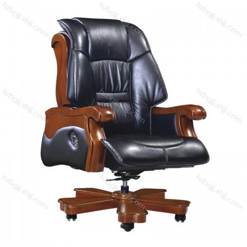 经理办公升降椅 高档真皮大班椅38#