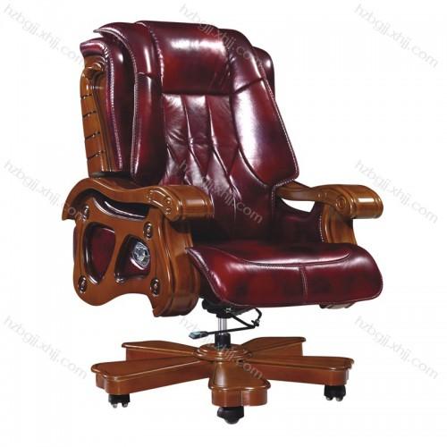 豪华升降总裁办公椅 旋转真皮 大班椅40#