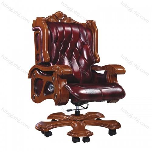 奢华高档总裁办公椅升降真皮班椅43#