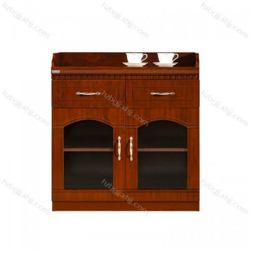 胡桃木茶水柜 会议室实木茶水柜MM0801#