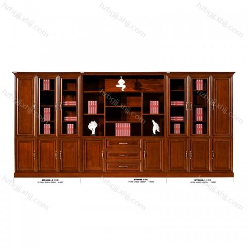 高档办公文件柜实木书柜生产批发 MY3008-2#