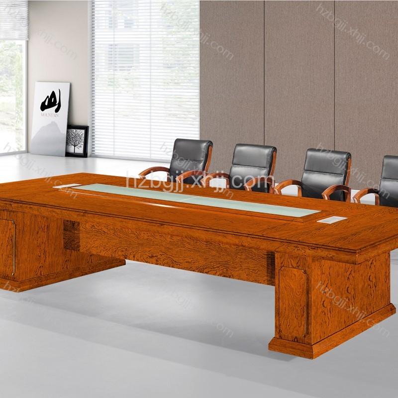 花梨木会议桌商务会议桌定做厂家HK3803#