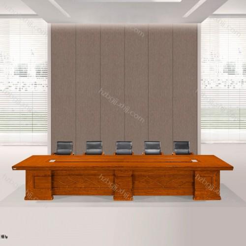 实木会议桌生产直销 花梨木会议桌价格HK4808#