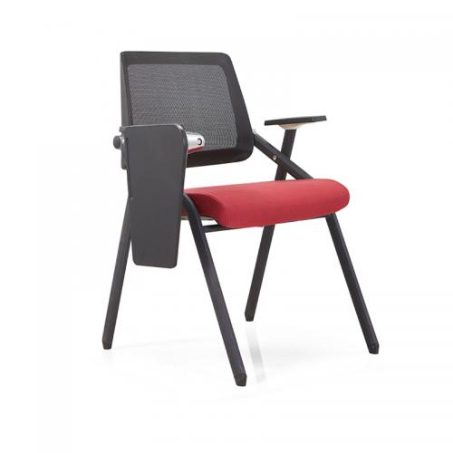 厂家直销折叠培训椅带写字板会议椅 913