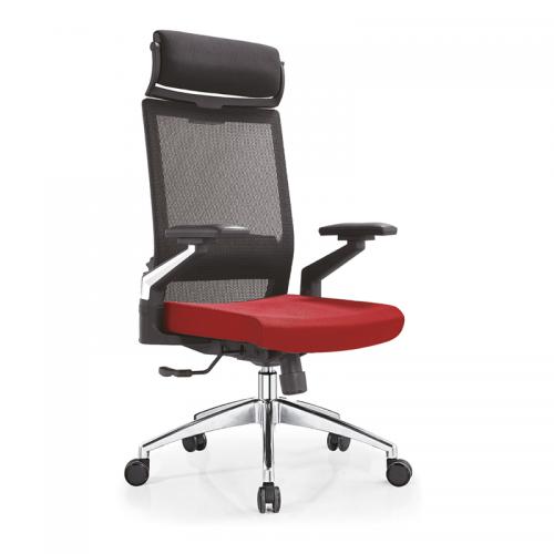 时尚简约弓形透气网布椅电脑椅 A08