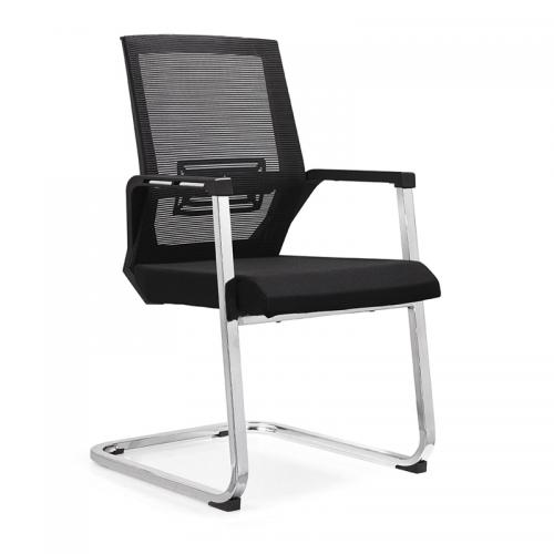 弓形办公座椅 透气网布椅价格C06