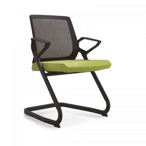 折叠办公椅网布透气培训椅C10