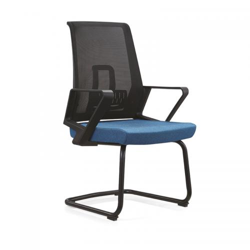 简约职员弓形会议椅网布办公椅C12