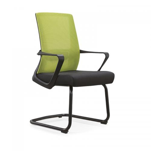现代职员弓形办公椅定制网布会议椅C15