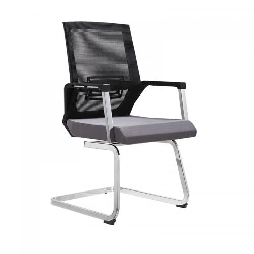 高档网布弓形办公椅电脑椅采购批发D06