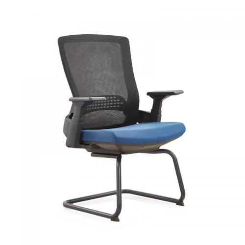 弓形培训椅网布办公椅品牌选购D32