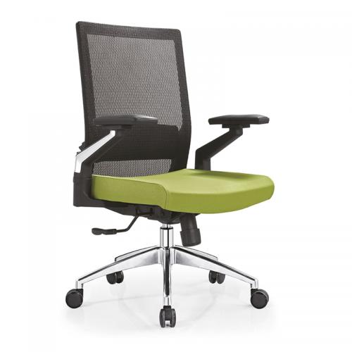 网布升降电脑椅办公职员椅定做 B08