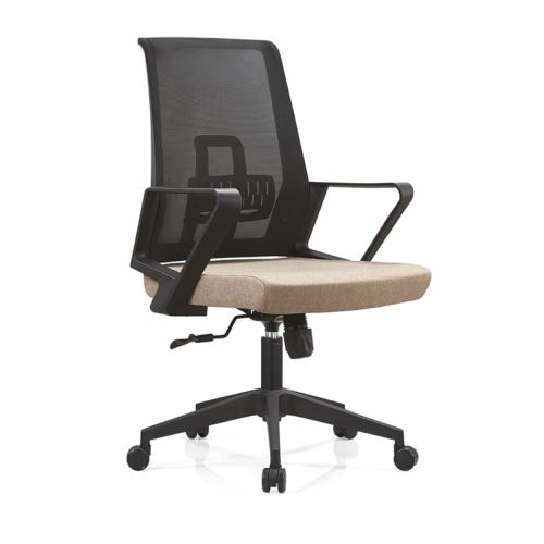 升降办公椅网布职员电脑椅批发 B12