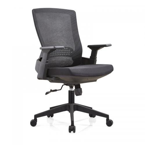 升降职员办公椅 网布透气电脑椅B32