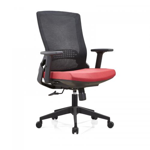 职员办公椅批发 网布升降转椅采购B35-2