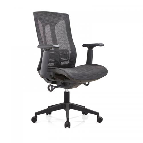 办公椅品牌 透气网布升降座椅B36