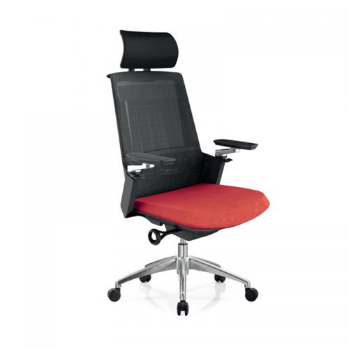 批发定制护腰升降网布透气办公椅 A33