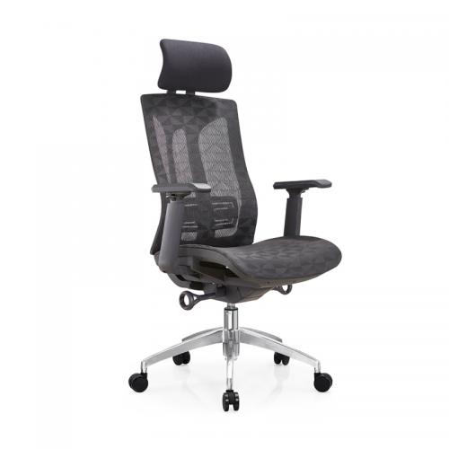 网布职员电脑椅升降旋转办公椅生产厂家 A36