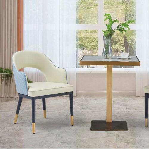 办公室休闲桌椅 北欧简约靠背椅 Q9048#