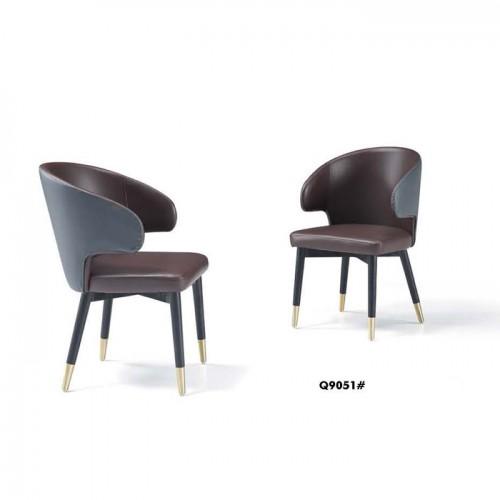 办公休息室椅子 软包坐垫休闲椅 Q9051#