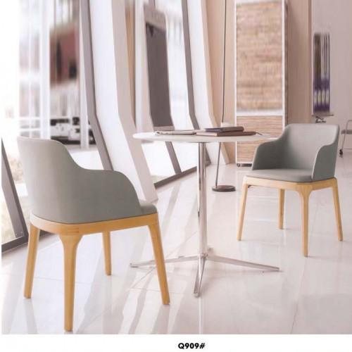 咖啡厅休闲靠背椅 小型茶几套装 Q909#