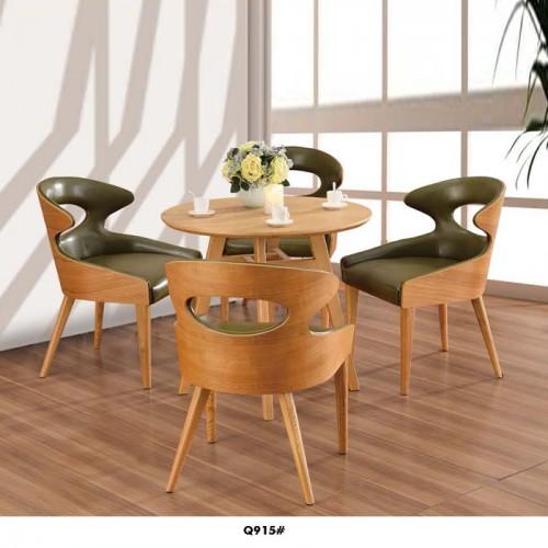 简约时尚圆桌 休闲椅套装 Q915#