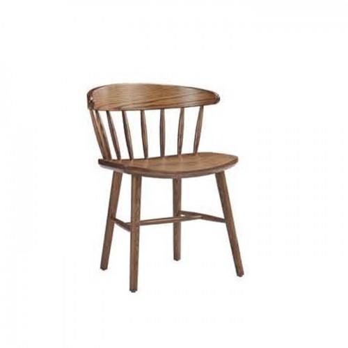 时尚创意实木靠背椅 Q9053#