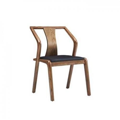主题民宿休闲椅 创意实木椅子 Q9059#