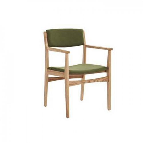奶茶店休闲椅子 极简实木椅子 Q907-1#