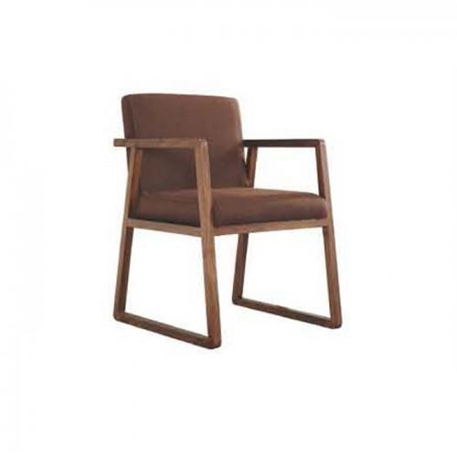 香河简美式餐厅餐椅 休闲椅子 Q1001#