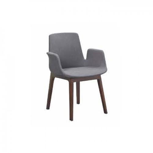高档酒店餐厅餐椅 休闲实木椅子 Q917#