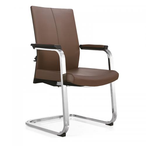 职员办公椅品牌皮质弓形电脑椅C09