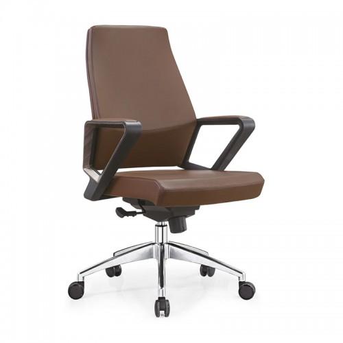 升降经理椅真皮办公椅厂家B18