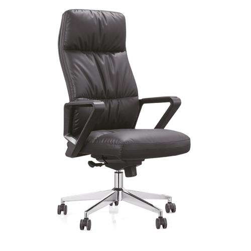 真皮老板椅升降转办公椅厂家直销A21