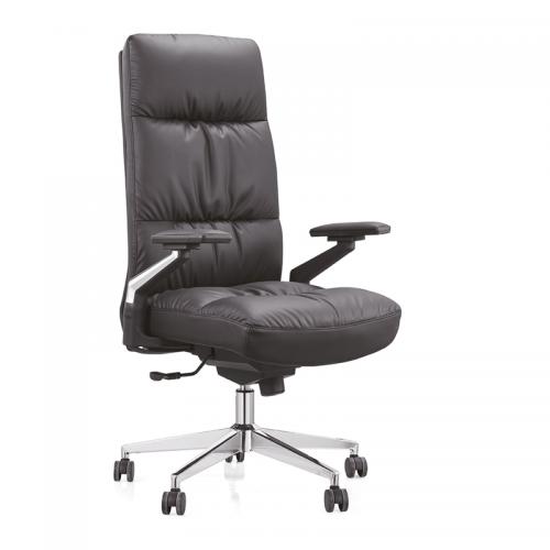 老板椅厂家定制真皮人体工学升降办公椅A11