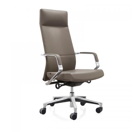 高档真皮电脑椅人体工学老板椅131-01