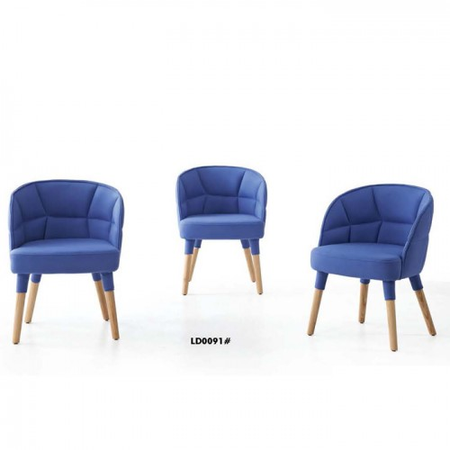 现代休闲单人椅北欧沙发椅生产批发LD0091#