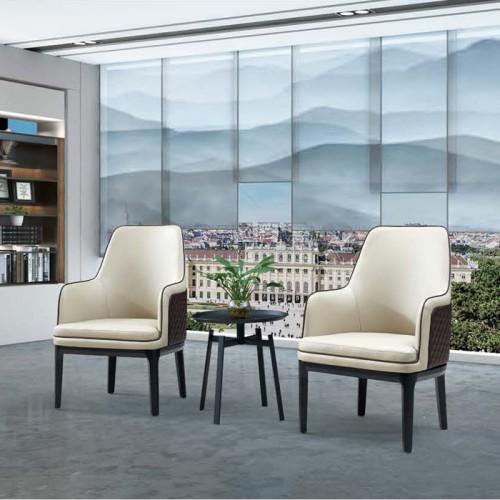 北欧沙发椅洽谈椅供应厂家Q1015#