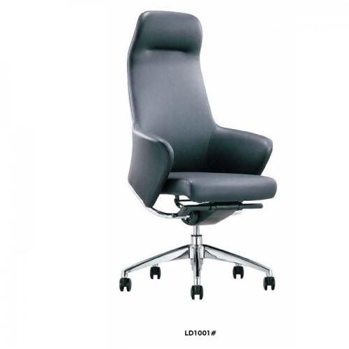 真皮旋转办公椅 升降老板椅厂家LD1001#