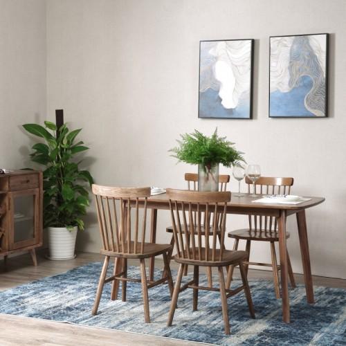 简约实木餐桌餐椅时尚北欧风格餐桌餐椅_CT105