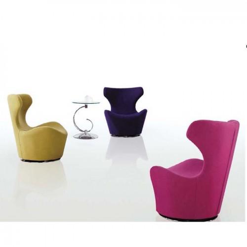 时尚接待洽谈椅单人休闲椅Q829#