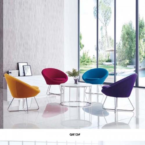 现代休闲椅办公接待洽谈椅价格Q812#