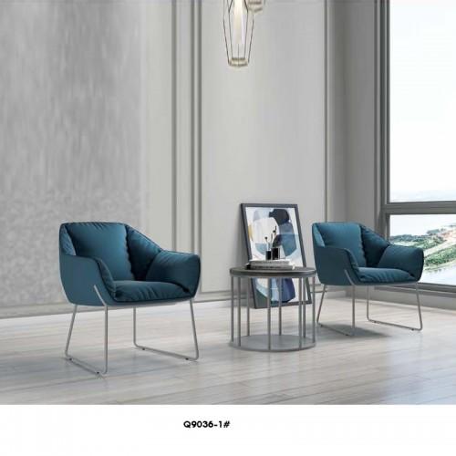 工作室休闲单人沙发椅Q9036-1#