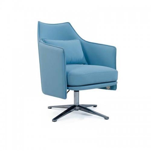 简约现代休闲布艺座椅时尚单人沙发椅Q9033#