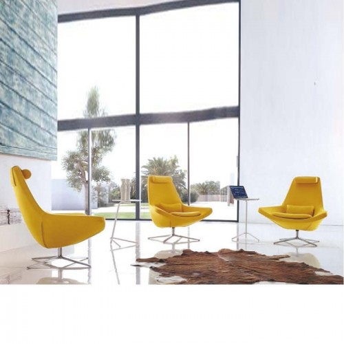 时尚创意单人沙发椅 接待休闲洽谈椅Q808#