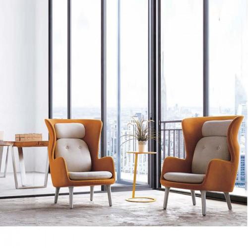 北欧时尚办公室休闲沙发椅洽谈椅LD803#
