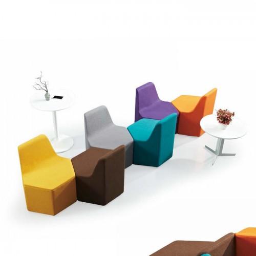 定制异形单人位组合沙发椅LD0023#
