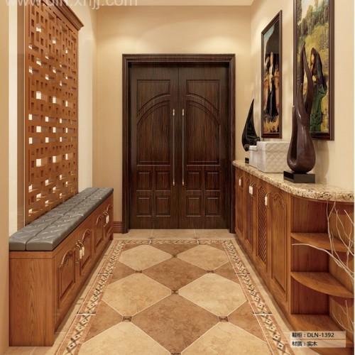 天津德洛尼全屋定制家具品牌 现代中式间厅柜 DLN-1392